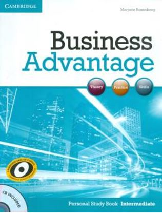 Imagem de BUSINESS ADVANTAGE INTERMEDIATE PERSONAL BK W CD