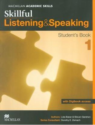 Imagem de SKILLFUL LISTENING & SPEAKING 1 - SB WITH DIGITAL ACESS