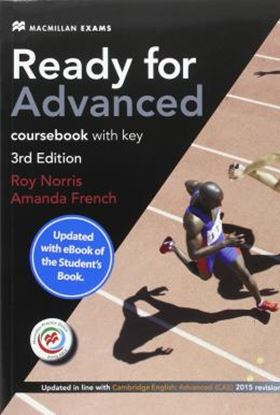 Imagem de READY FOR ADVANCED STUDENT´S BOOK WITH EBOOK PACK - 3RD ED