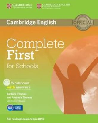 Imagem de COMPLETE FIRST - WORKBOOK WITH ANSWERS WITH AUDIO CD - 1ST ED