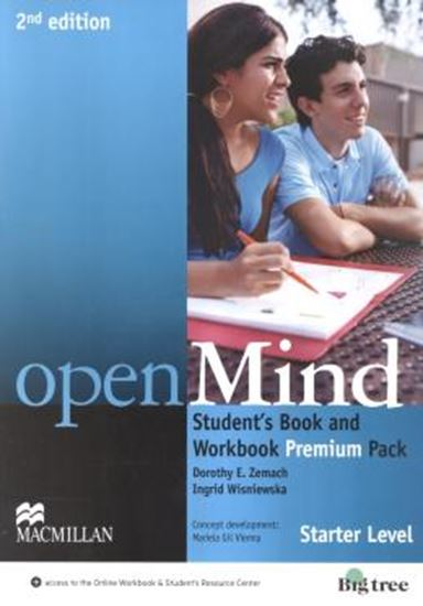 Picture of OPEN MIND STARTER STUDENT´S BOOK PREMIUM PACK WITH CD- AUDIO - 2ND ED