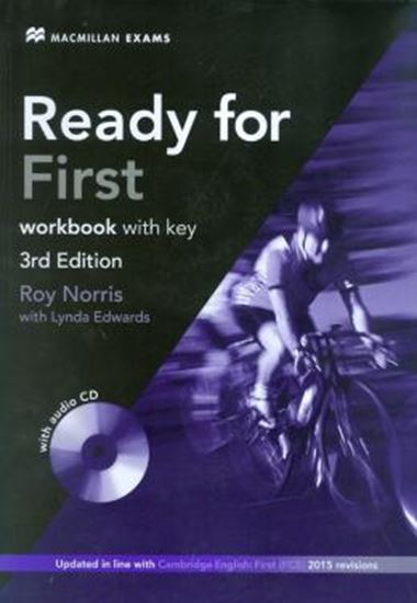 Picture of READY FOR FIRST WB WITH KEY + AUDIO CD PACK - 3RD ED
