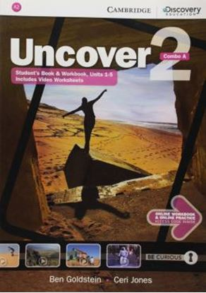 Imagem de UNCOVER 2A COMBO STUDENT´S BOOK WITH ONLINE WORKBOOK AND ONLINE PRACTICE - 1ST ED