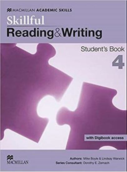 Picture of SKILLFUL 4 - READING AND WRITING STUDENTS BOOK PACK WITH DIGIBOOK ACCESS - 1ST ED