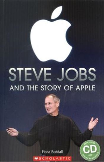 Picture of STEVE JOBS AND THE HISTORY OF APPLE WITH AUDIO CD