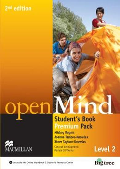 Picture of OPEN MIND 2 STUDENTS BOOK PREMIUM PACK - 2ND ED