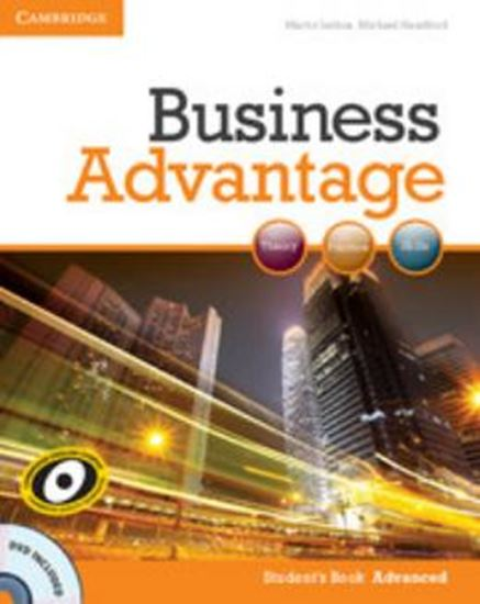 Picture of BUSINESS ADVANTAGE ADVANCED - STUDENT´S BOOK WITH DVD