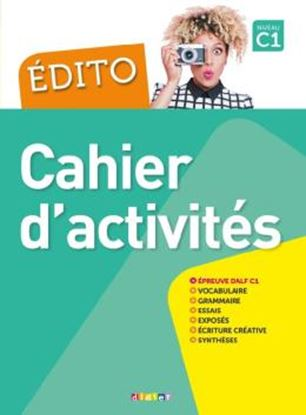 Imagem de EDITO C1 - CAHIER D´EXERCICES + CD MP3